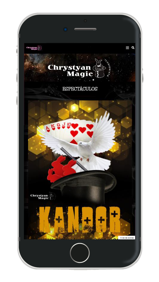 chrystyan magic movil